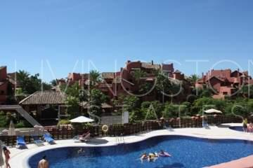 Contemporary stylish three-bed, two-bathroom apartment located beach side of Estepona (New ...