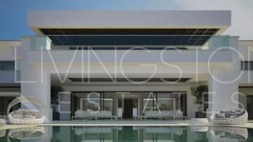 New state of the art project in Sotogrande at the end of a tranquil cul-de-sac with 24h ...