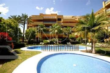Beautiful groundfloor apartment on the second beach line, in the gated complex with 24hours ...
