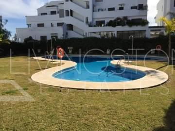 Luxury 2 Bed Apartment located in a unique urbanization on the Golden Mile, Marbella. This ...