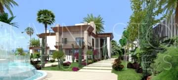 Unique project for luxury detached villa in Sierra Blanca, Marbella.