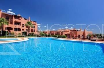 Modern 2 bed/2 bath top floor apartment situated next to the popular Atalaya Golf & ...