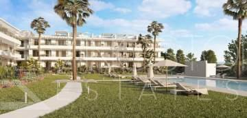 Fresh new development close to the beach. The complex is modern and elegant.