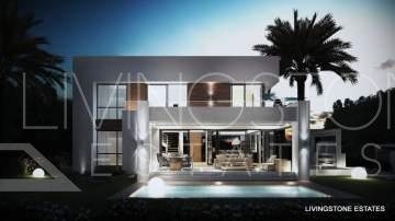 New Built Modern Villa between Marbella and Estepona.