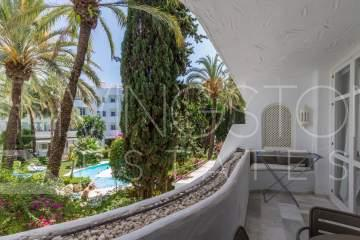 Modern luxury apartment in Marbella Real for Holiday rent