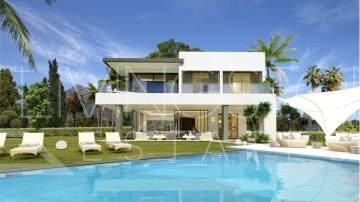 New built, independent, modern designed villa, built to the highest standarts on The Golden ...
