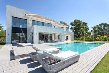 Exceptional contemporary luxury villa located  in the exclusive area of Casasola, Guadalmina ...