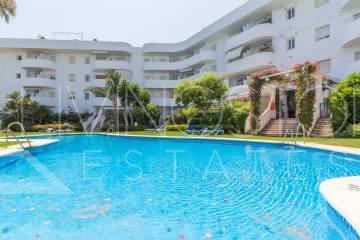 The apartment is located 250 meters from the Marbella Club Hotel and 300 meters from the beach ...