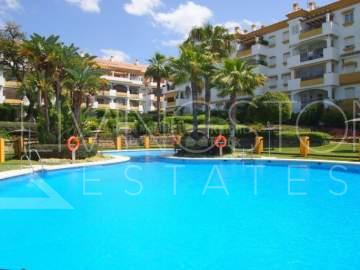 Wonderful 2 bedroom apartment with green views is located in Pinos de Nagüeles, Marbella ...