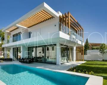 New built contemporary villa, close to Marbella and Puerto Banus