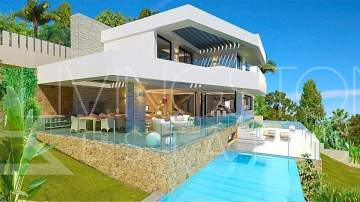 Brand new contemporary villa to be built in the urbanization El Herrojo, La Quinta, gated ...