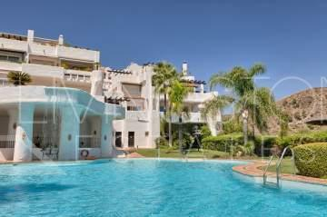 Beautiful, spacious and light, duplex corner penthouse.  South facing with lovely sea, ...