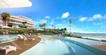 Splendid luxurious development, located beach front, just a few minutes away from Estepona