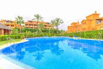 Spacious apartment in a luxury, gated complex with indoor pool and SPA, close to amenities