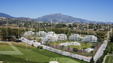 New development of contemporary apartments in one of the best areas of Marbella and Estepona
