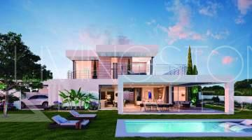 Stylish new built villa in Los Flamingos Golf, Cancelada