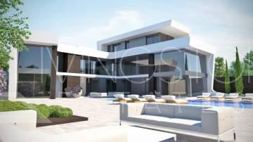 Modern new villa in Los Flamingos golf resort, Benahavís