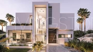 Unique resort with new built villas, La Boladilla Estepona