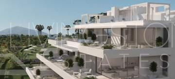 Modern penthouse in new built complex with heated pool, Atalaya