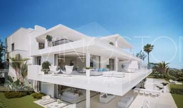 Unique modern apartment in a beachfront position, New Golden mile Estepona
