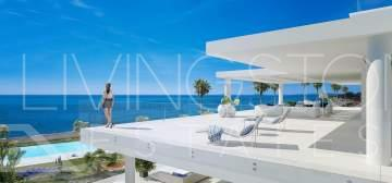 Unique modern penthouse in a beachfront position, New Golden mile Estepona