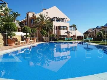 DUPLEX PENTHOUSE WITH PANORAMIC SEA VIEWS. BEACH AT CALAHONDA AND NEAR TO MARBELLA