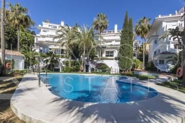 Beautiful and luxury apartment in one of the most prestigious area of Marbella -The Golden Mile.